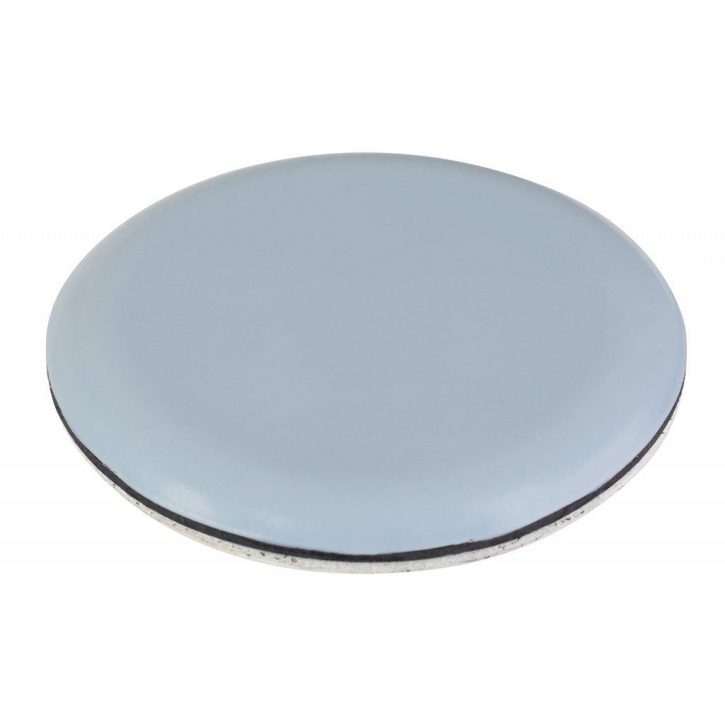 Univerzální kluzák, průměr 20mm, samolepící, šedý, 4 ks