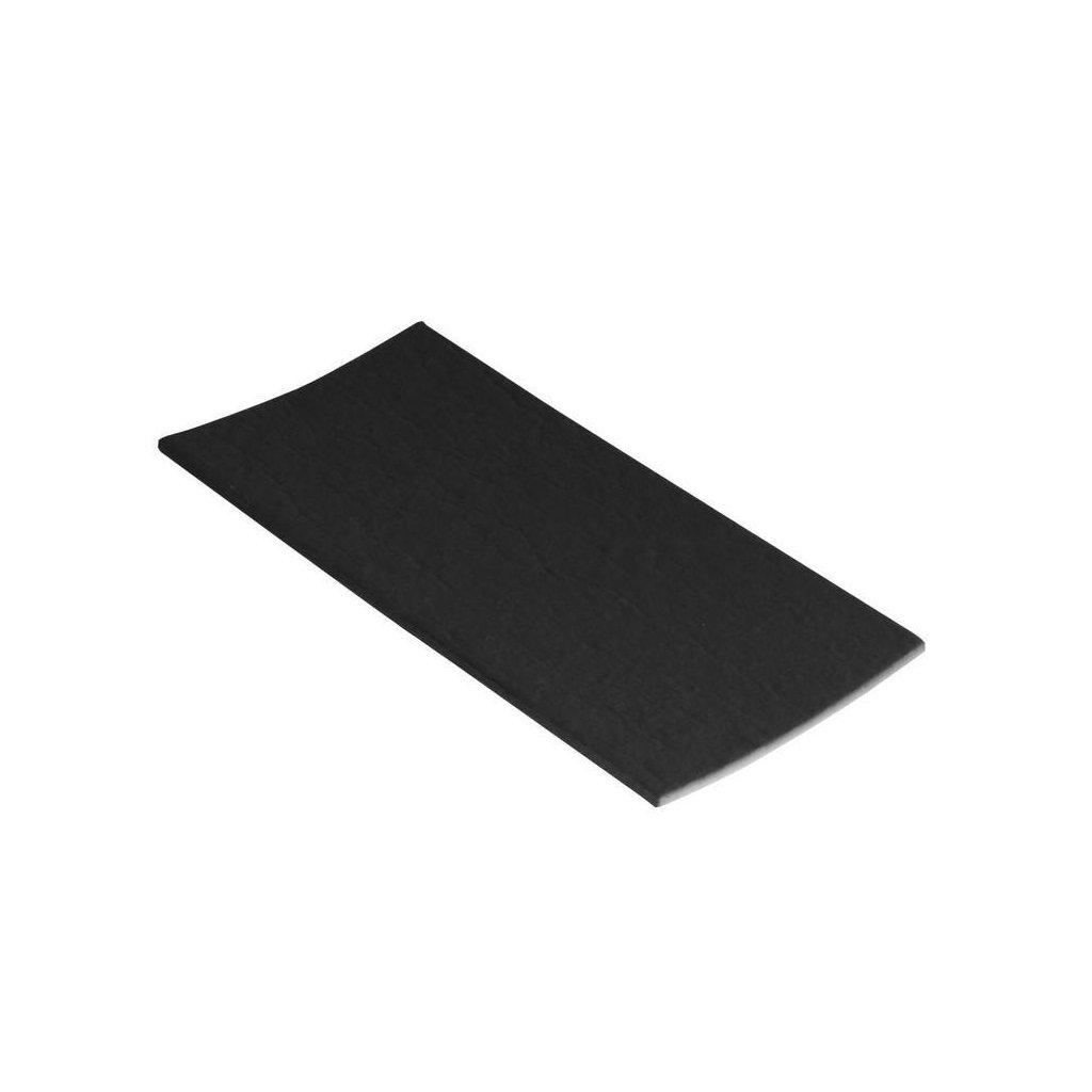 Protiskluzové podložky EVA 120x240mm, samolepící, černé, 1 ks