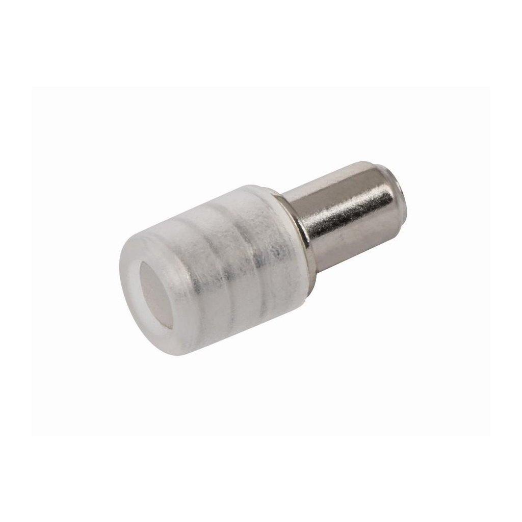 Podpěrka polic pro skleněné police pr. 5/7mm, 8 ks