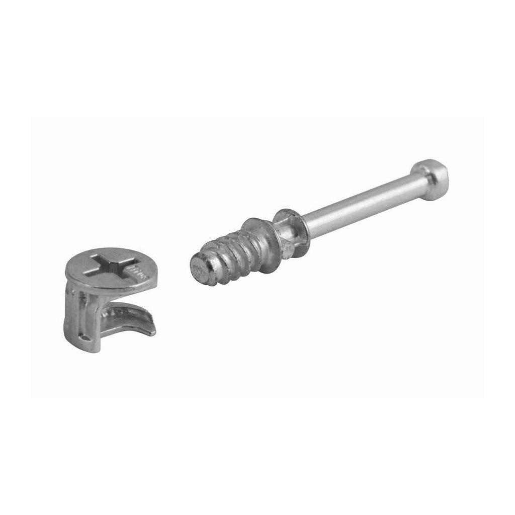 Spojovací kování Excentr, průměr 10x34mm, 4 ks