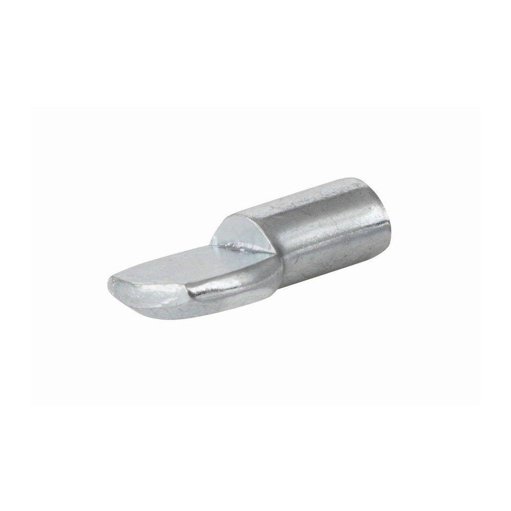 Podpěrka polic, průměr 5mm, 19x5x8mm, 8 ks