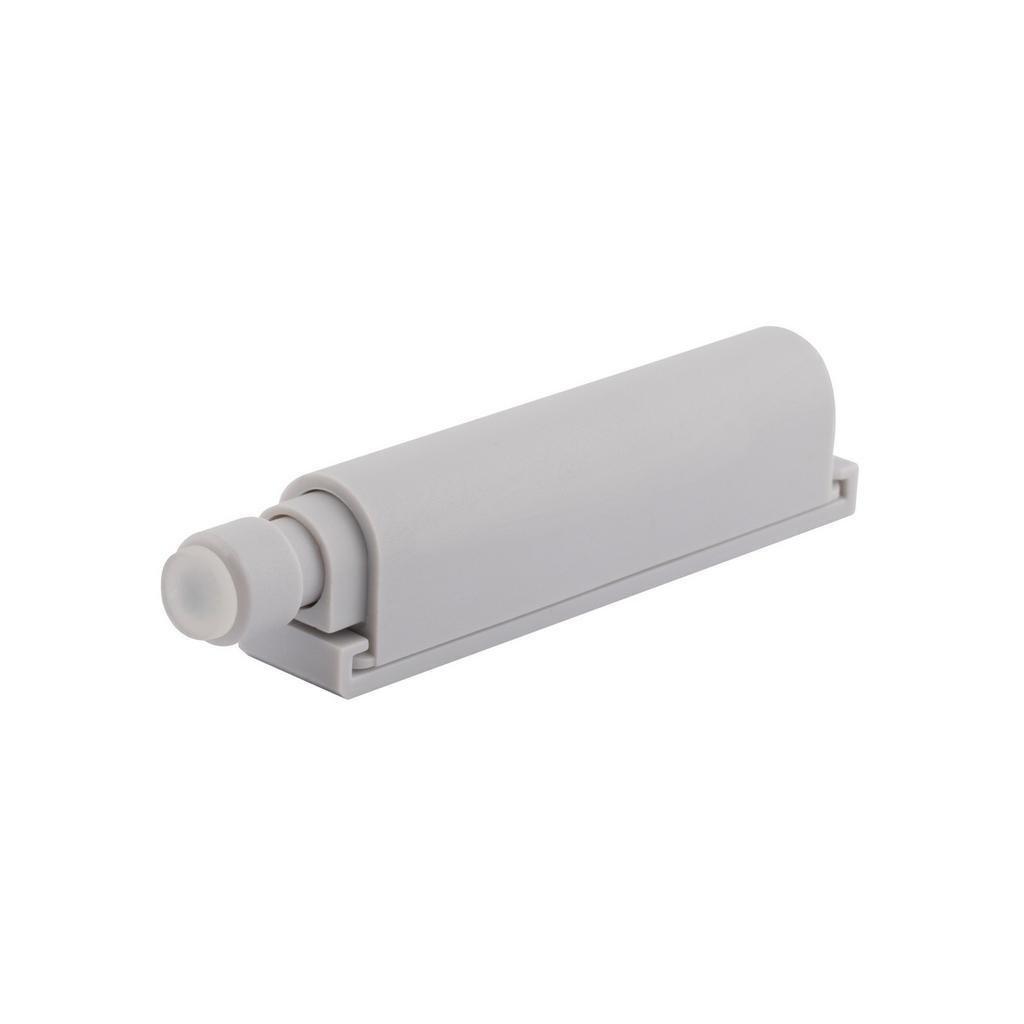 Systém otvírání bezúchytkových dvířek Push to open, 74x14mm, šedý