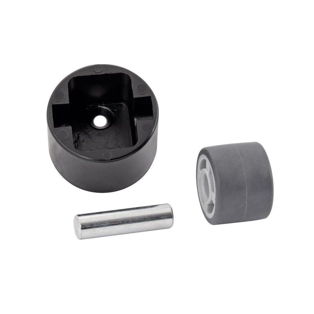 Kontejnerové kolečko pro tvrdé podlahy Ø 25 mm