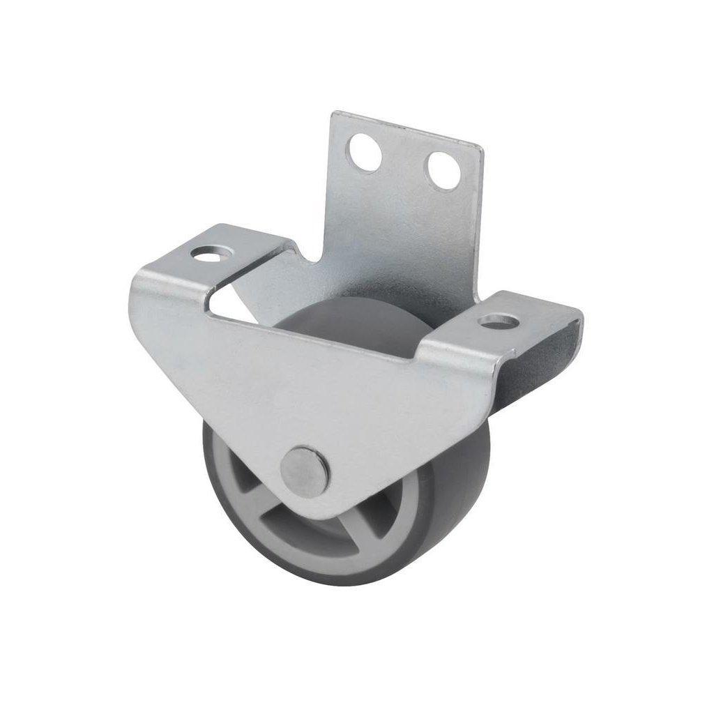 Skříňové kolečko pro tvrdé podlahy, průměr 30 mm
