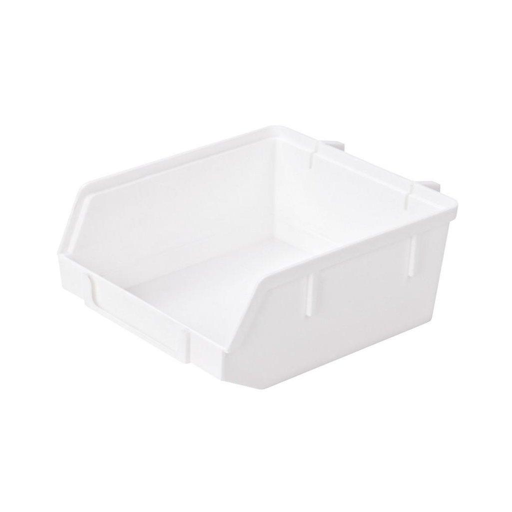 Minibox 90x40x90mm, plast, bílý