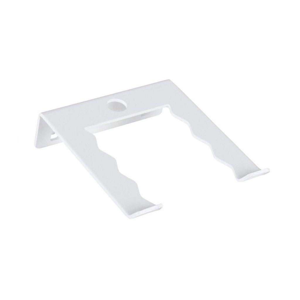 Držák na nářadí - jednoduchý 63x75mm, bílý