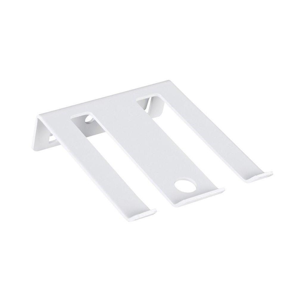 Držák na nářadí - dvojitý 63x75mm, bílý