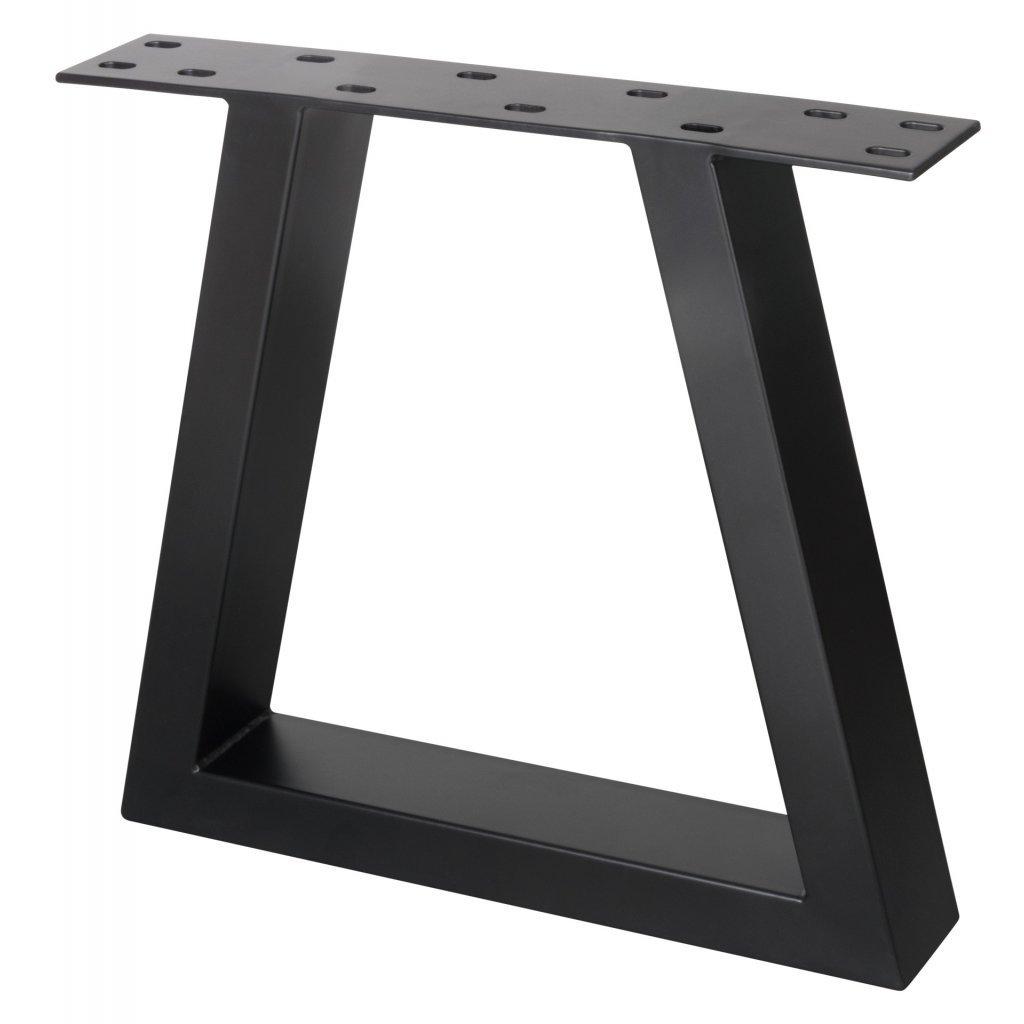 Rám pod stoly kónický, 420 x 450 mm, černý