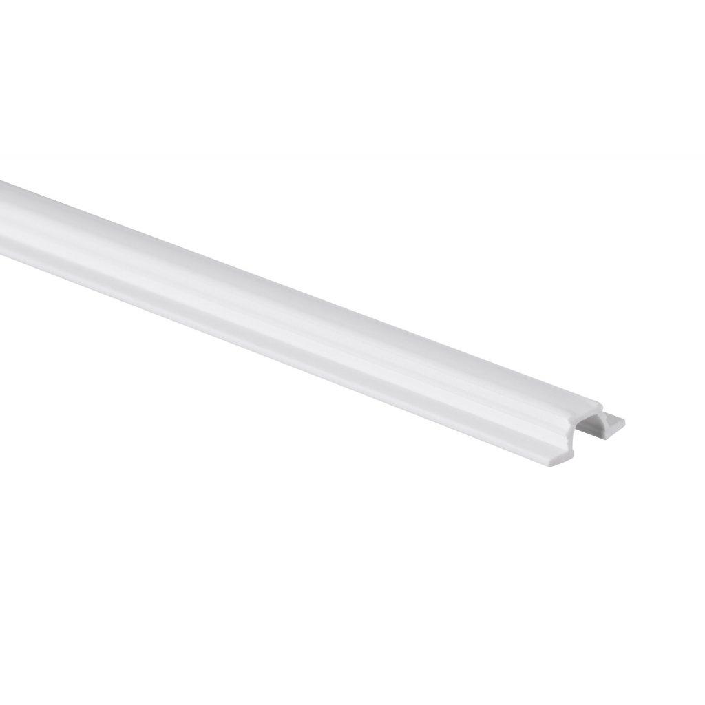 Vrchní/spodní vodicí profil WS 12 plast, 2000mm, bílý, 2ks