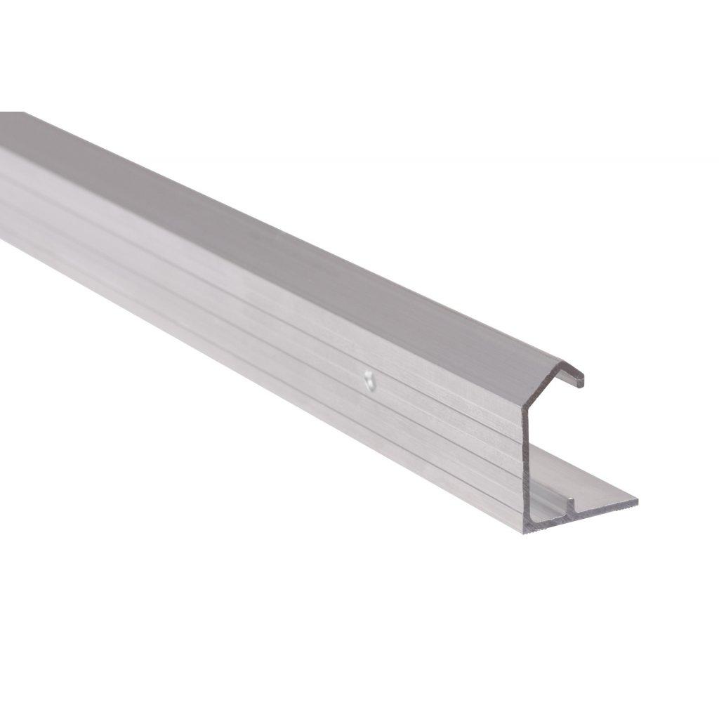 Vrchní vodicí profil pro WS 30 a WS 30+, délka 2000mm, Aluminium