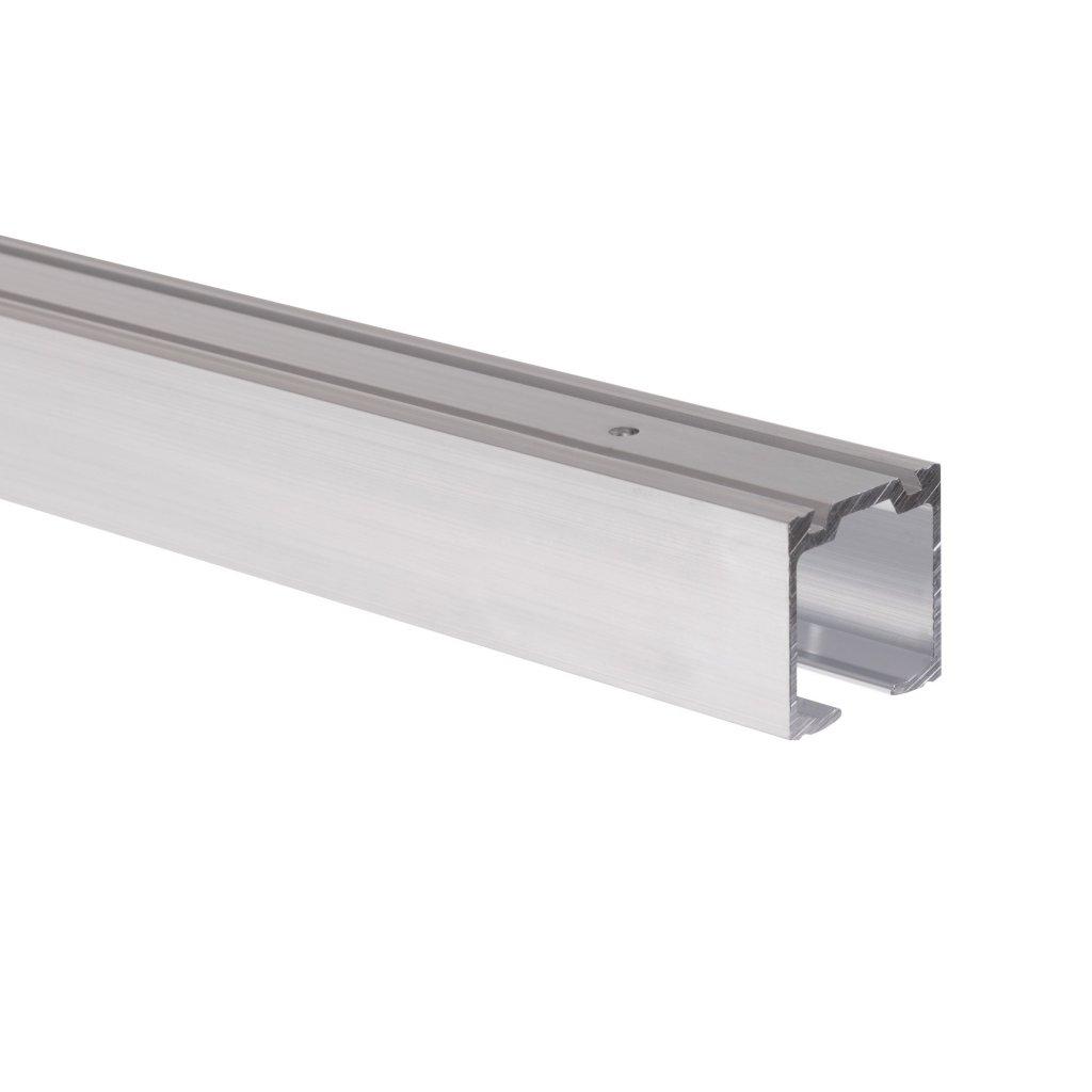 Vrchní vodicí profil pro WS 60 a 120, délka 2000mm, Aluminium