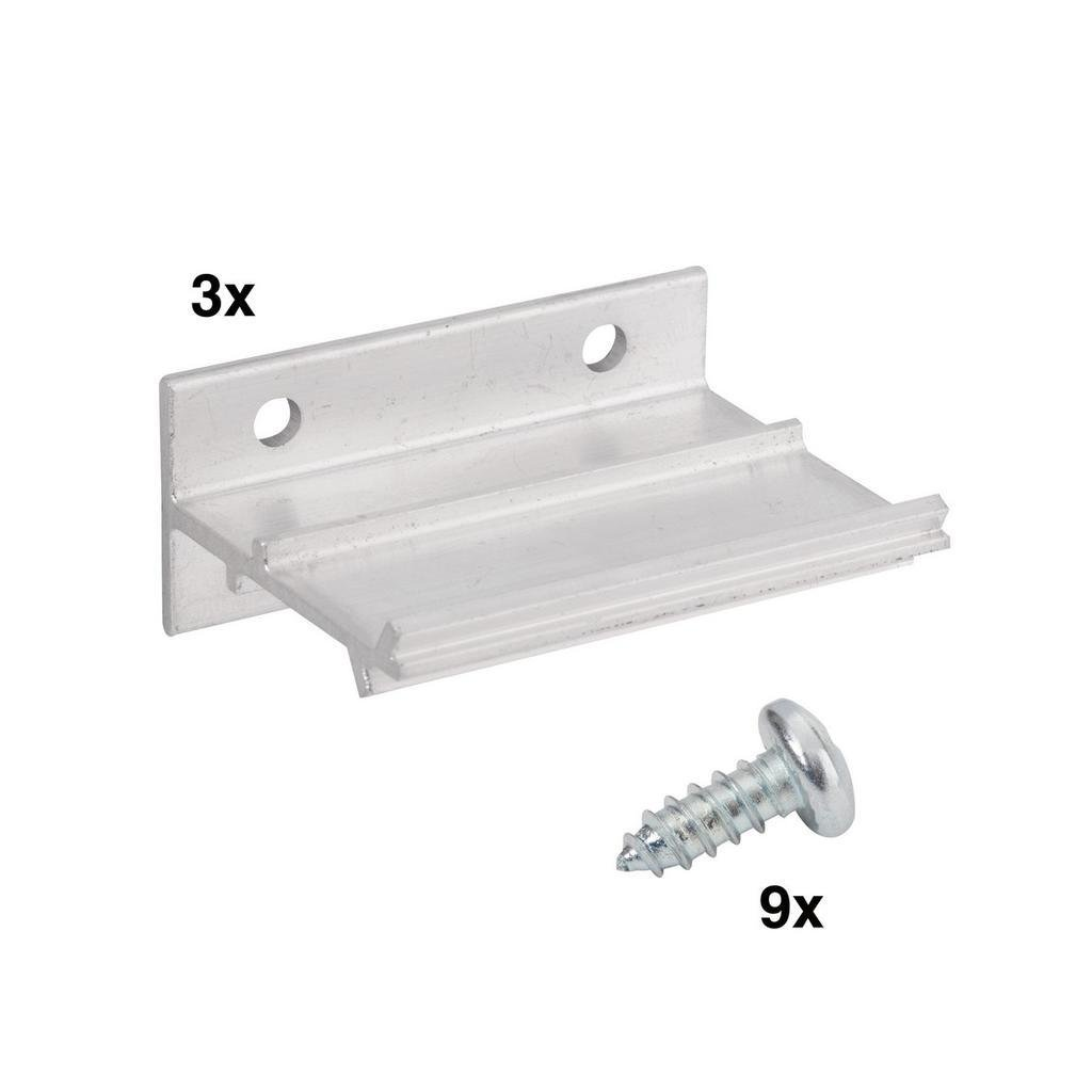 Držák garnýže pro WS 60 a WS 120, 3 ks