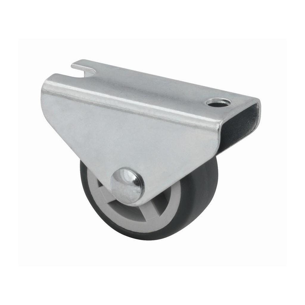 Skříňové kolečko pro měkké podlahy Ø 30 mm