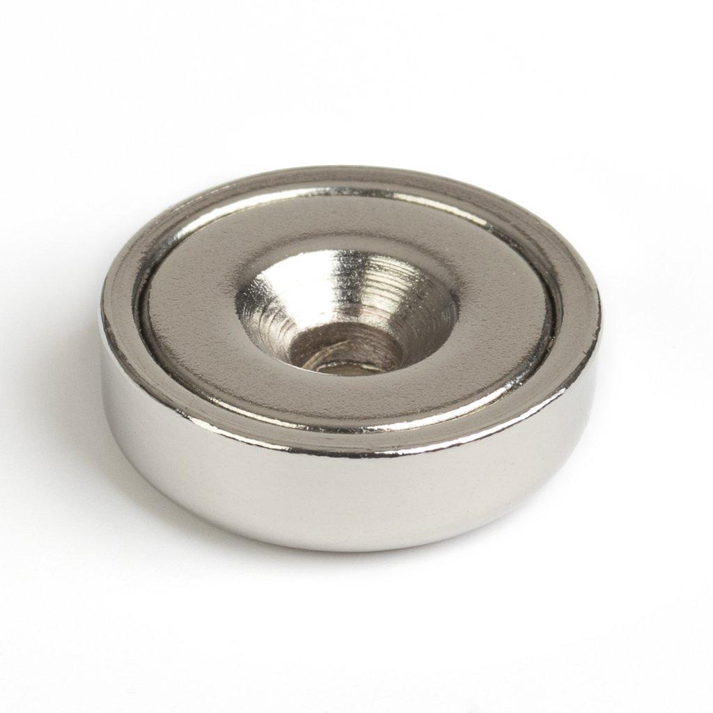 Magnet neodym průměr 16x4,5x3,5mm, max. nosnost 7,5kg