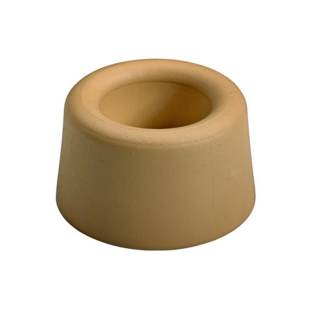 Dveřní zarážka Ø 40x25mm, béžová