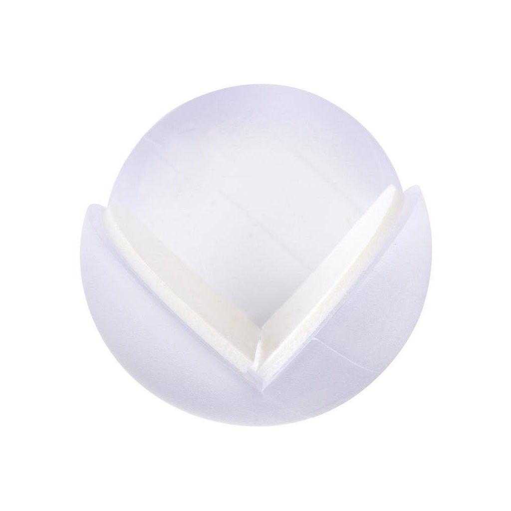 Ochrana rohu, průměr 25mm, transparentní, 4 ks