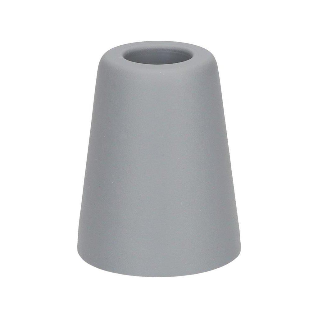 Dveřní zarážka, průměr 50x60mm, šedá
