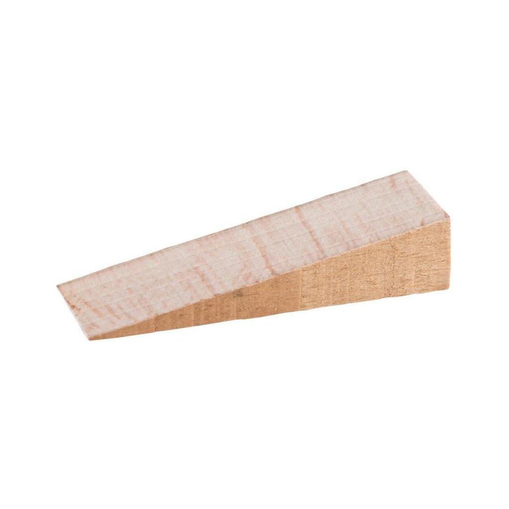 Dřevěný klínek 65x20x0/14mm, buk