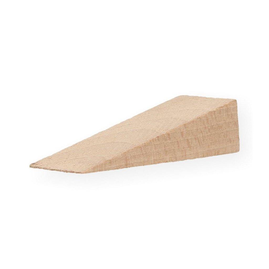 Dřevěný klínek 65x20x0/14mm, buk, 10 ks
