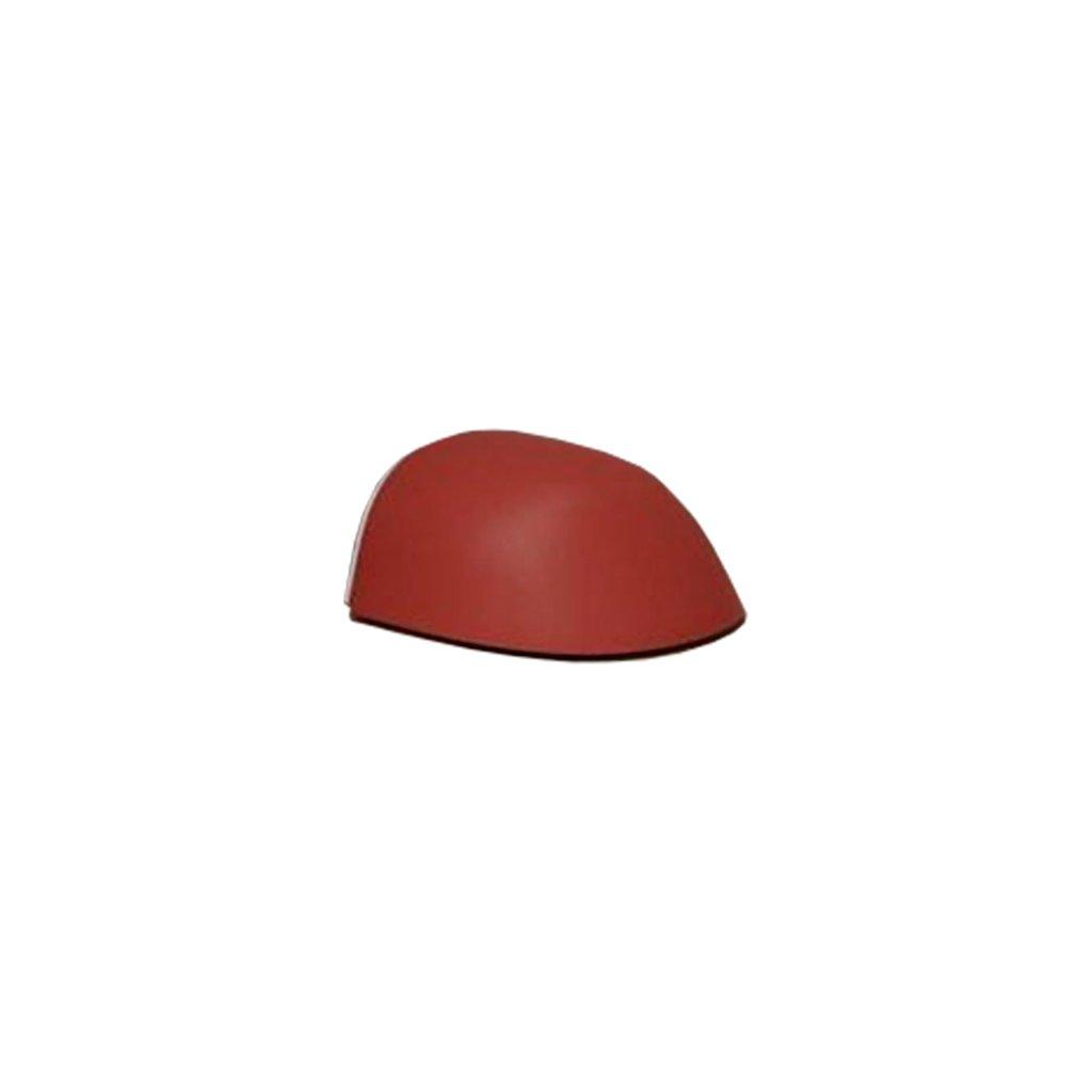 984 dverni zarazka 49x38x23mm drevo samolepici cervena