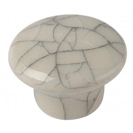 Nábytkový knopek Fragment Ø 32mm, porcelán