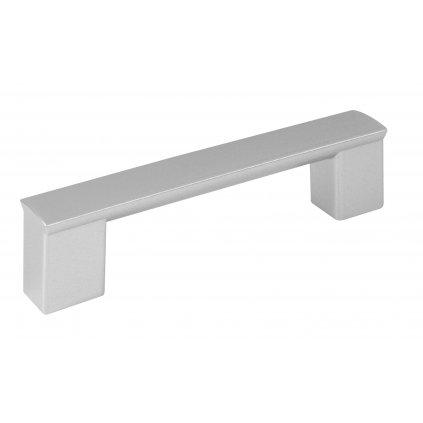 Nábytková úchytka Porta rozteč 96mm, plast, aluminium