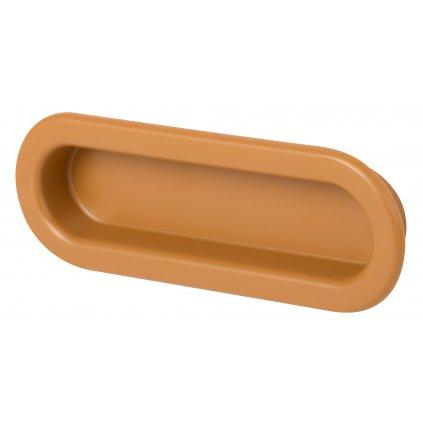 Nábytková úchytka pro posuvné dveře Nela, plast, buk