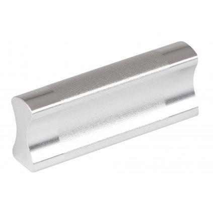 Nábytková úchytka Ivana rozteč 32mm, Aluminium