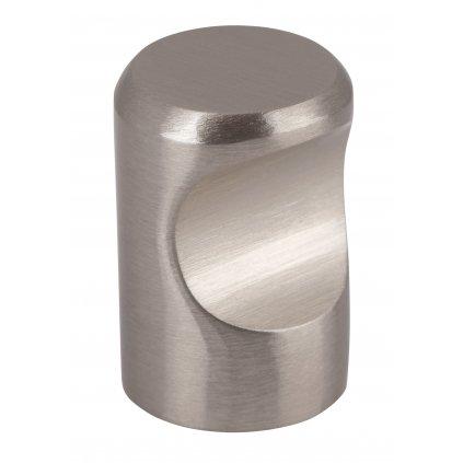 Nábytková knopka Venlo, průměr 15x22mm, inox design