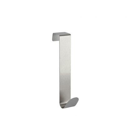 Věšák na dveře 22x120mm, nerez, 4 ks