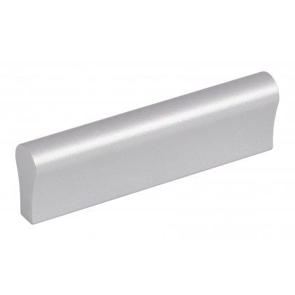 Nábytková úchytka Soria rozteč 64mm, Aluminium, matný chrom