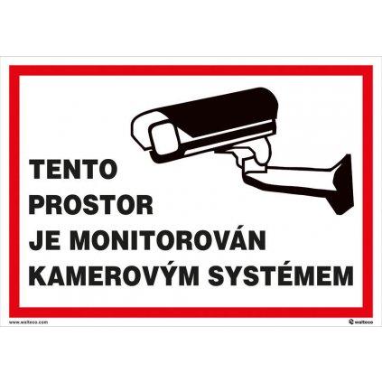 Tento prostor je monitorován 210x297mm, formát A4