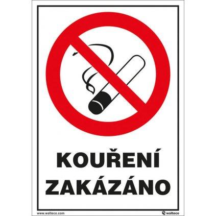 Kouření zakázáno (restaurace) 148x210mm, formát A5, samolepka