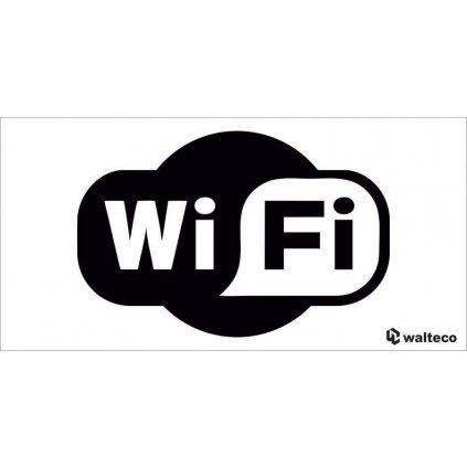 Označení wi-fi, 100x50mm, samolepka