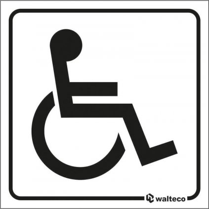 Fólie transparentní - WC invalida