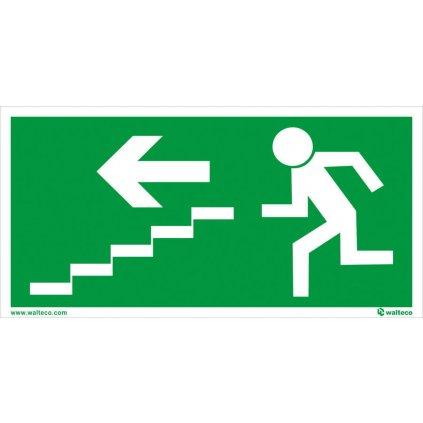 FTL Únikové schodiště vlevo dolů