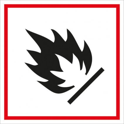 Symbol GHS 02 – HOŘLAVÉ