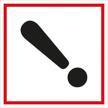 Symbol GHS 07 – DRÁŽDIVÉ
