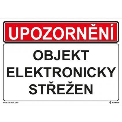 OBJEKT ELEKTRONICKY STREZEN