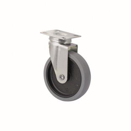 Přístrojové kolečko pro tvrdé podlahy, otočné, průměr 100 mm, nosnost 50 kg