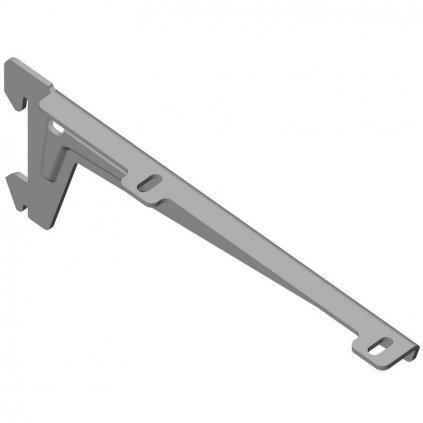 Stranový nosník 180mm, stříbrný, 1 pár