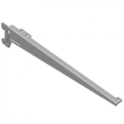Stranový nosník 380mm, stříbrný, 1 pár