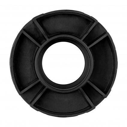 Soklová noha 95-165mm, plast, černá