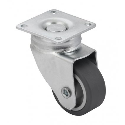Přístrojové kolečko pro tvrdé podlahy, průměr 40 mm, nosnost 25 kg