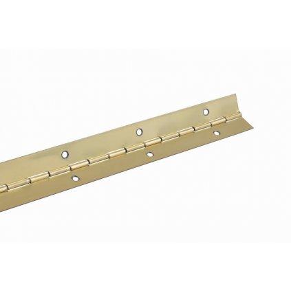 Klavírový závěs 32x1500mm, pomosazený