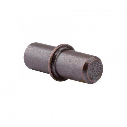 Podpěrka polic Ø 5mm, bronz patina, 20 ks