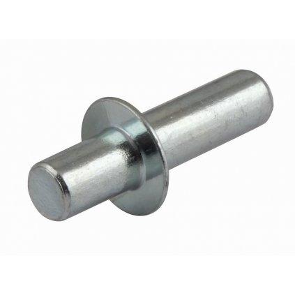 Podpěrka polic, průměr 5mm, 30x5x5mm, 8 ks