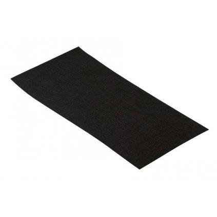 Filcový přířez 100x200x1mm, samolepící, černý, 2ks