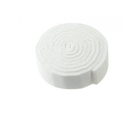 Filcový pásek 19x1000mm, samolepící, bílý
