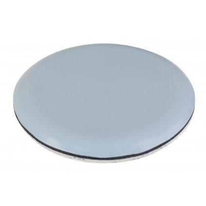 Univerzální kluzák, průměr 17mm, samolepící, šedý, 4 ks